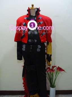 Vincent Valentine from Final Fantasy VII Cosplay Costume front