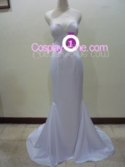 Boa Hancock (wedding dress version) from One Piece Cosplay Costume front R