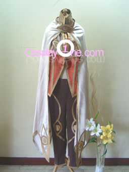 Wizard from Anime Cosplay Costume front