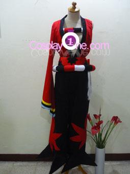 Yasuri Shichika from Katanagatari Cosplay Costume front
