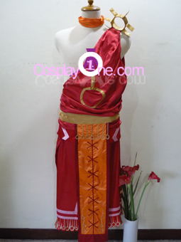 Yata from Hack Cosplay Costume front R