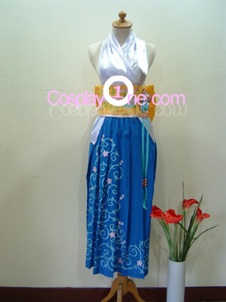 Yuna from Final Fantasy X Cosplay Costume front