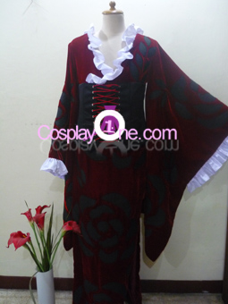 Yuuko Ichihara from xxxHolic Cosplay Costume front