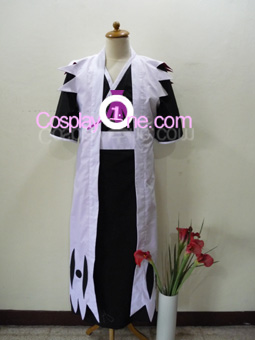 Zaraki Kenpachi from Bleach Cosplay Costume front