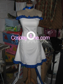 Chii (Butterfly dress version) from Chobits Cosplay Costume front prog