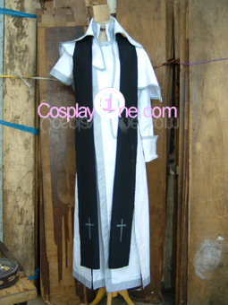 Sha from Anime Cosplay Costume front prog
