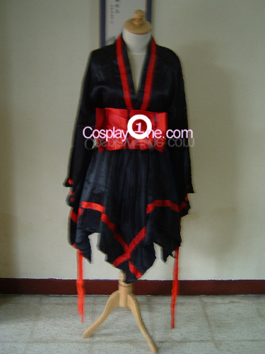 Walolita Black Cosplay Costume front