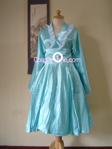 Walolita Blue Cosplay Costume front 2