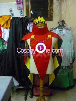 Ghirahim from The Legend of Zelda Skyward Sword Cosplay Costume front prog