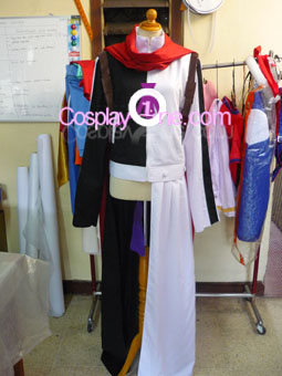 Jio Freed from O-Parts Hunter Cosplay Costume front prog