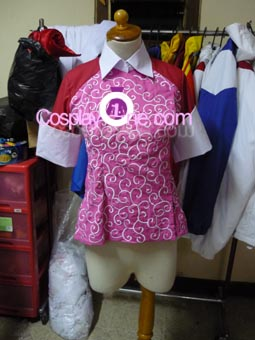 Kay Faraday from The Ace Attorney Game Cosplay Costume front prog