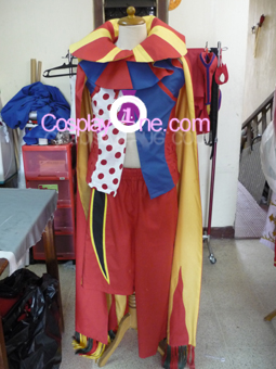 Kefka Palazzo from Final Fantasy VI Cosplay Costume front prog
