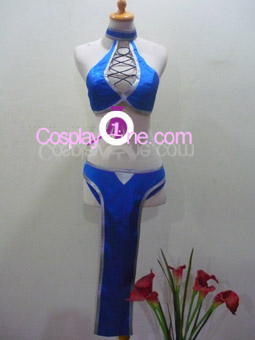 Kitana from Mortal Kombat Cosplay Costume front