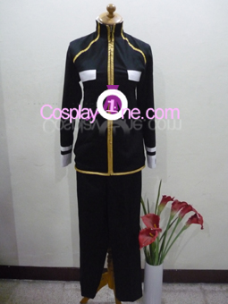 Kozato Enma from Katekyo Hitman Reborn Cosplay Costume front