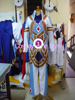 Kratos Aurion from Tales of Symphonia Cosplay Costume front prog2