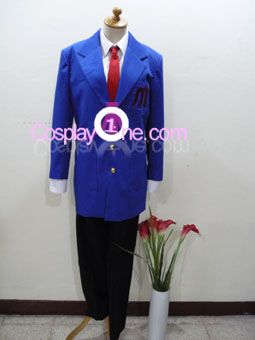 Kyon from Haruhi Cosplay Costume front2