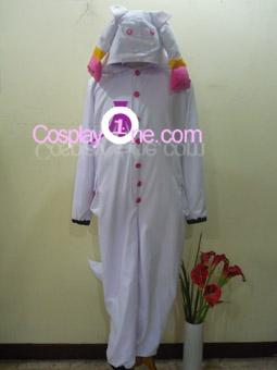 Kyubey from Mahou Shoujo Madoka Magica Cosplay Costume front