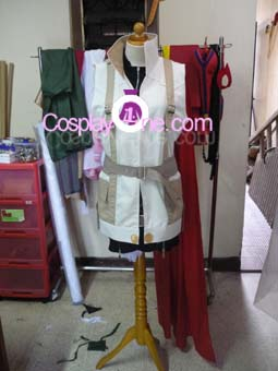 Lightning from Final Fantasy XIII Cosplay Costume front prog