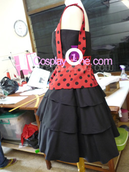 Little Miss Muffet Cosplay Costume front prog