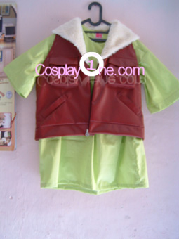 Lockon Stratos from Mobile Suit Gundam Cosplay Costume front prog