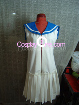 Maid from Anime Cosplay Costume front prog