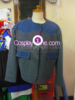 Marty McFly from Movie Back to The Future Cosplay Costume front prog