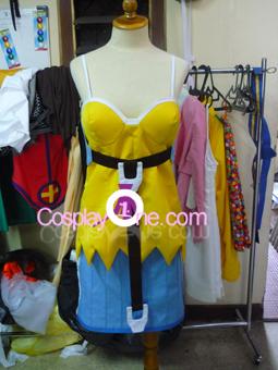 Megumi from Burst Angel Cosplay Costume front prog