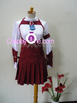 Momo Mizrahi from Xenosaga Cosplay Costume front