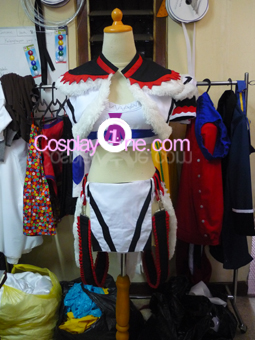 Kirin Armor from Monster Hunter Cosplay Costume legwarmer front prog