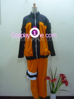 Naruto Uzumaki from Naruto Cosplay Costume front