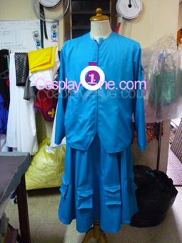 Nitori Kawashiro from Touhou Cosplay Costume front prog