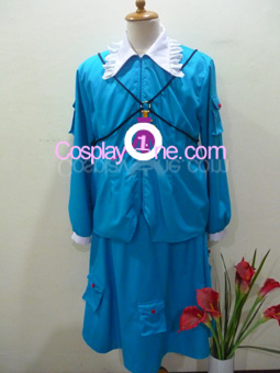 Nitori Kawashiro from Touhou Cosplay Costume front