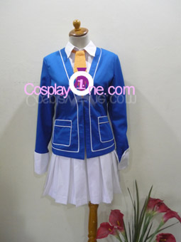 Nozomi Kasuga (School version) from The Corpse Princess Cosplay Costume front