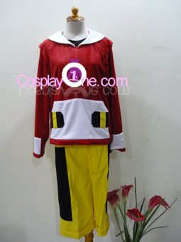 Pokemon Gold from Pokemon Cosplay Costume front