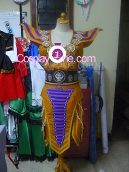 Ritualist Obsidian from Anime Cosplay Costume front prog2