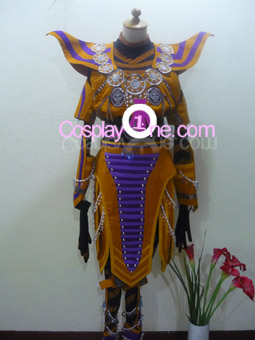 Ritualist Obsidian from Anime Cosplay Costume front