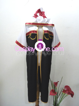 Ragnarok Online Monk from Anime Cosplay Costume front