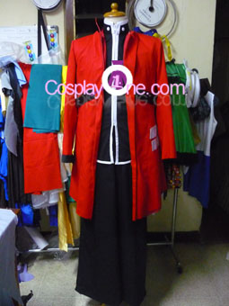 Ragna the Bloodedge from BlazBlue Cosplay Costume front prog