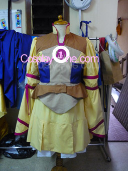 Rei Mii from Zoids Cosplay Costume front prog