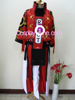Sol Badguy from Guilty Gear Cosplay Costume front