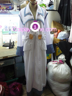 Soma Cruz from Castlevania Games Cosplay Costume front prog