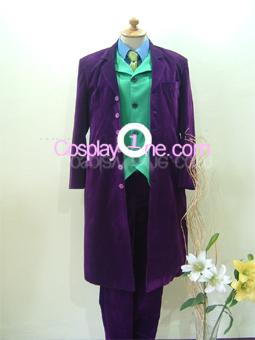 Joker from DC Comics Cosplay Costume front