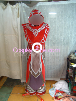 Mage from Tier 5 World of Warcraft Cosplay Costume front prog2