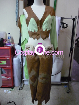 Nightfall from Anime Cosplay Costume front prog