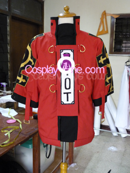 Sol Badguy from Guilty Gear Cosplay Costume front prog