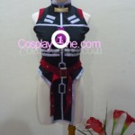 Fate Testarossa from Magical Girl Lyrical Nanoha Cosplay Costume front R