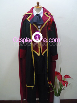 Fate Testarossa from Magical Girl Lyrical Nanoha Cosplay Costume front