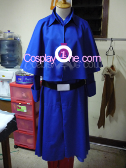 France from Hetalia Cosplay Costume front prog
