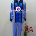 Graham Aker from Mobile Suit Gundam Cosplay Costume front
