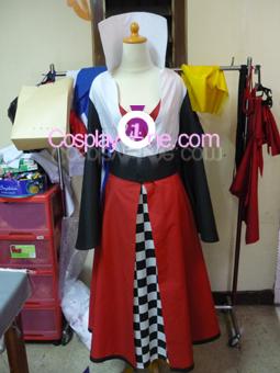 Haruhi Suzumiya (Queen of Hearts version) from Haruhi Cosplay Costume front prog